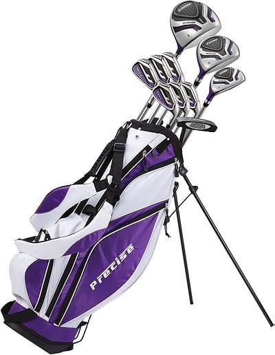 Precise Premium Ladies Womens Complete Golf Clubs Set