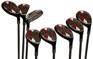 Senior Ladies Golf Clubs All Hybrid Set