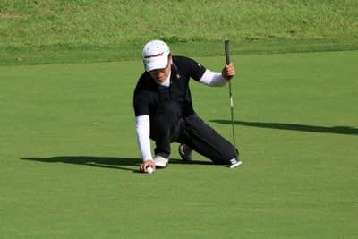 The Putting Green is Not Flat