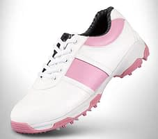 PGM Womens Leather Golf Shoes 1