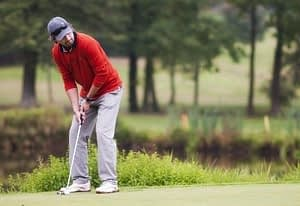 Correct Posture for Golf Putting